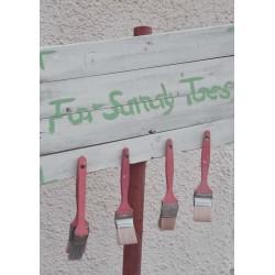 For sandy toes poster | Vacker print till tavelvägg - Spoca