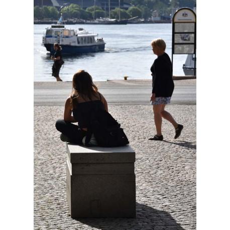The boat arrives poster | Motiv Stockholm - Spoca