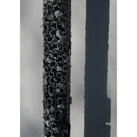 Poster med exotiskt M. Abstrakt konst som fototavla.