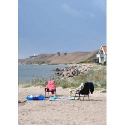 Beach chairs poster | Snygga tavlor till tavelväggen - Spoca