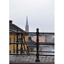 Stockholm - Pustegränd poster | Tavlor med Stockholmsmotiv - Spoca