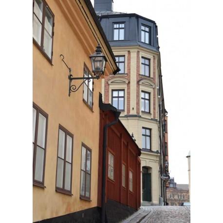 Old houses poster | Tavla med Stockholmsmotiv - Spoca