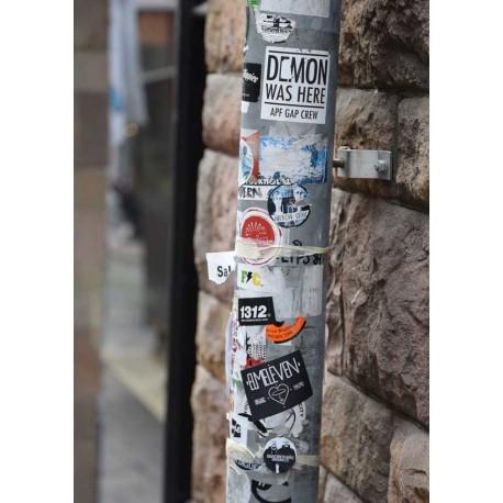 Stickers poster   Gatukonst från Södermalm