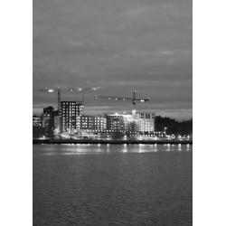 Svartvit water poster | Fint Stockholmsmotiv - Spoca