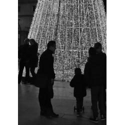 Svartvit Christmas poster - Spoca