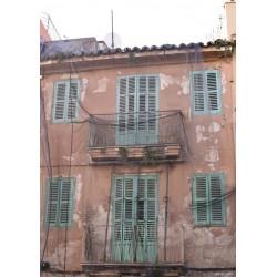 Vintagehouse poster. Fotokonst från Mallorca - Spoca