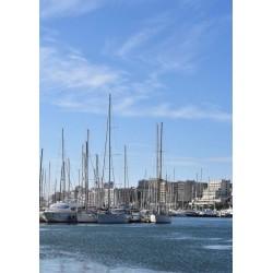 Palma Marina poster. Fotokonst från Mallorca - Spoca