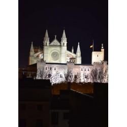 Palma Cathedral poster. Fotokonst från Mallorca - Spoca