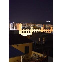 Rooftop view poster. Fotokonst från Mallorca - Spoca