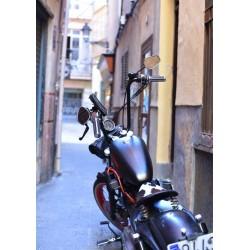 Motorcycle poster. Fotokonst från Mallorca - Spoca