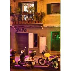 Evening in Palma poster. Fotokonst från Mallorca - Spoca