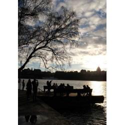 Stockholm Skeppsholmen poster. Köpa tavlor online - Spoca