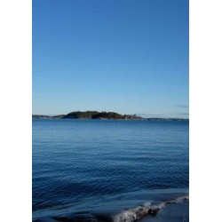 Fototavla av himmel och hav i blått - Spoca