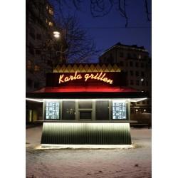 En favorit tavla, tidig morgon i Stockholm.