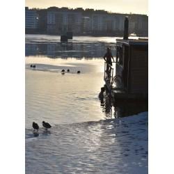 Poster av vinter i Stockholm. Prints, fotoposters, tavlor online