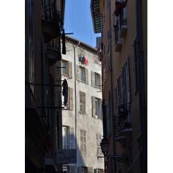Tavla med fotokonst i Nice. Inspireras av vackra fototavlor från Spoca
