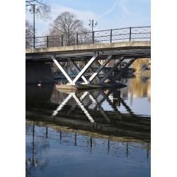 Fototavla av Långholmsbron. Snygga tavlor och posters med motiv av Stockholm. Spoca edition