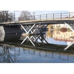 Broar, Långholmsbron. Köp dina tavlor online på spoca edition