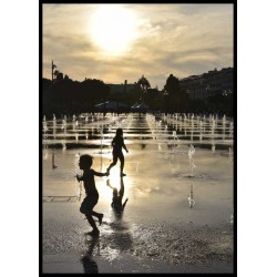 Fotokonst Sun going down. Köp snygga prints med fotokonst online av Spoca edition