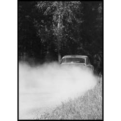 Svartvita tavlor med motormotiv och natur. Fotokonst till vardagsrum - Spoca