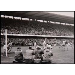 Analogt fotografi, fotokonst fotbollsmatch 1956