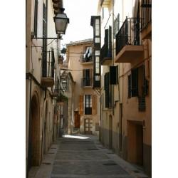Poster, tavla med fotografi av hus på Mallorca - Spoca