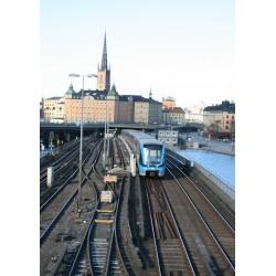 Poster, Tåget - Stockholm