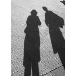 Tavla med svartvit fotokonst - Spoca