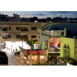 Små tavlor. Nattliv på Fuerteventura. Posters