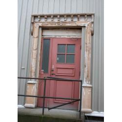 Vintage dörr. Fototavla Strömstad