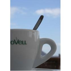 Tavla, poster med kaffekopp mot himmel. Kul kökstavlor
