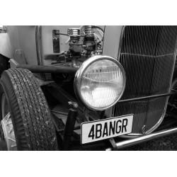 Tavla, poster Vintage bil. Fina motor posters till tavelväggen
