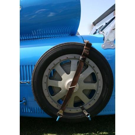 Tavla, poster Bugatti blå. Vintage fototavla - Spoca