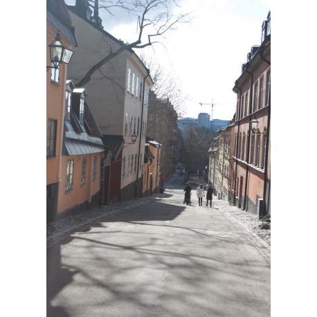 Södermalm, Stockholm poster. Tavlor och prints med vintagemotiv