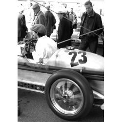 Häftig racerbil Poster. Tavla med vintage/retro, motormotiv av bil