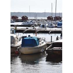 Båthamnen Poster. Foto Strömstad