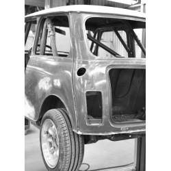 Bilen i luften, cool fotoposter. Snygga tavlor online