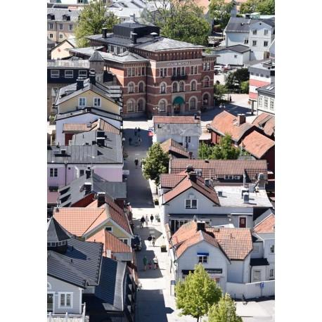 Norrtälje Poster. Fotokonst av Norrtälje från luften
