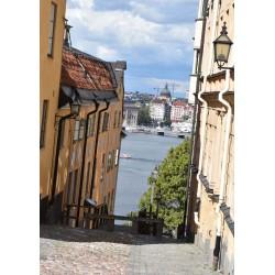 Stockholm - Södermalm Poster. Stockholm Collection