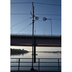 Fotoposter av Lidingöbron. Posters till vardagsrum och sovrum