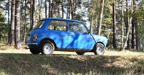 Vintagebilen, Mini 1000